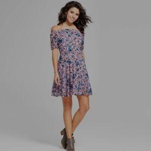 Xhilaration lace off the shoulder dress